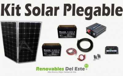 Kit Solar Fotovoltaico Plegable