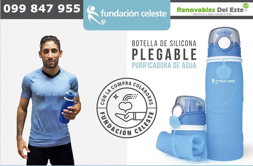Botellas Fundación Celeste