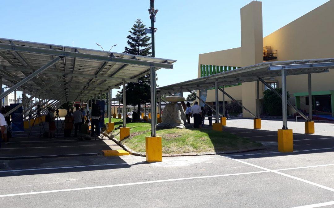 La Inauguración de el Primer Estacionamiento Solar Fotovoltaico Público de Uruguay