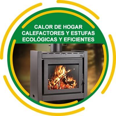 Calefactores y Estufas ecológicas