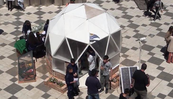 Escuela Técnica Malvín Norte presentó la Casa Sustentable y amigable con el medio ambiente