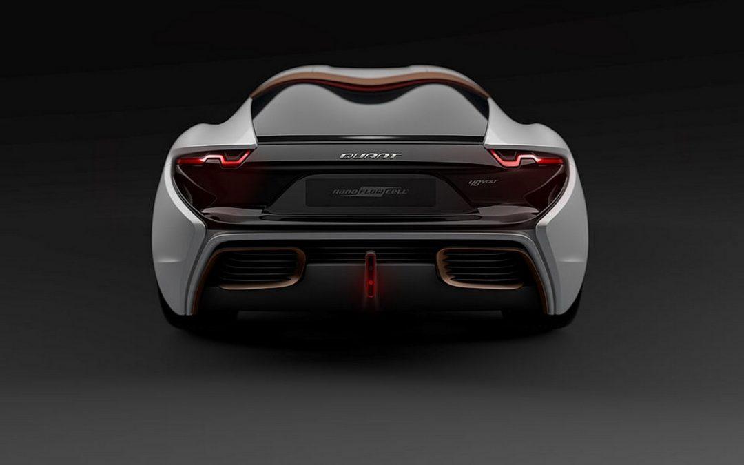 El futuro de los autos electrónicos, el Quant 48VOLT