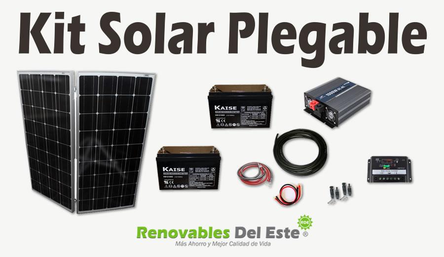 Kit Solar Fotovoltaico Plegable