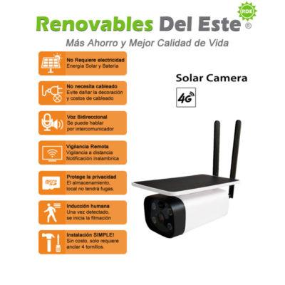 Cámara de Vigilancia Solar