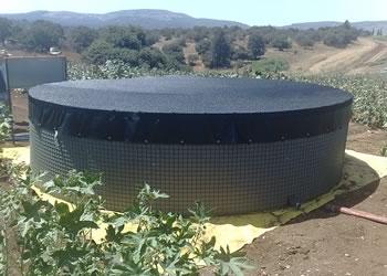 Tanque De Agua Ensamblado